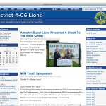 District 4-C6 Lions Clubs International screenshot